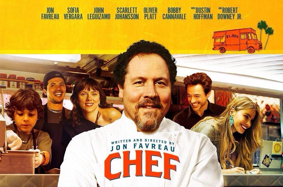 Películas de Hollywood sobre restaurantes