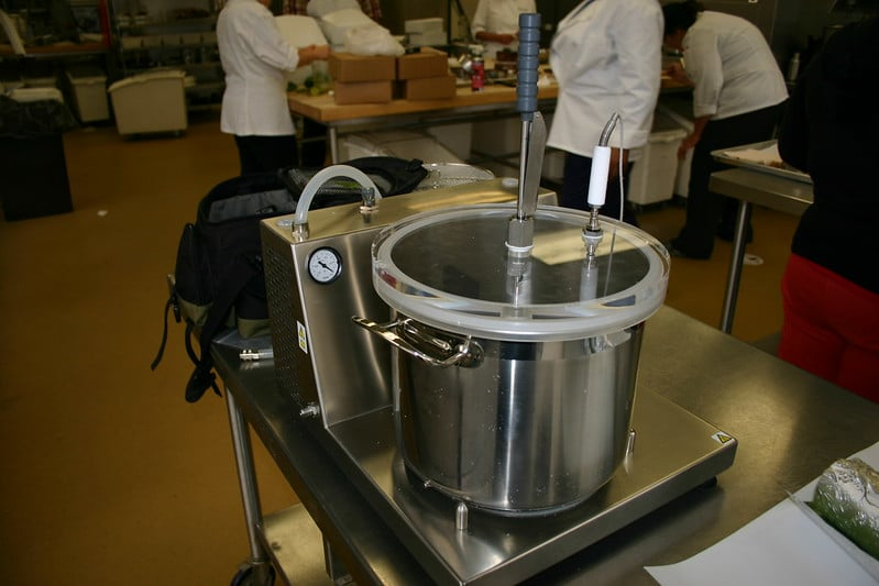 Maquinaria de alta cocina: Gastrovac