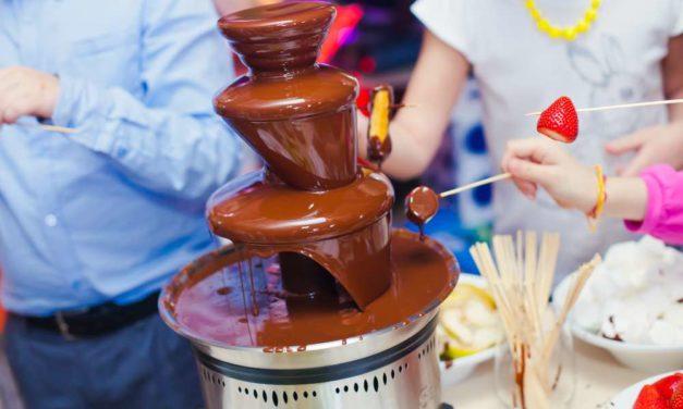 Maquinaria de hostelería: fuente de chocolate en tu restaurante