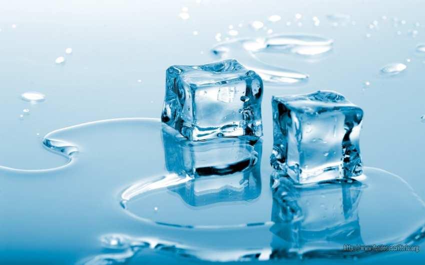 Cubitos de hielo restaurante